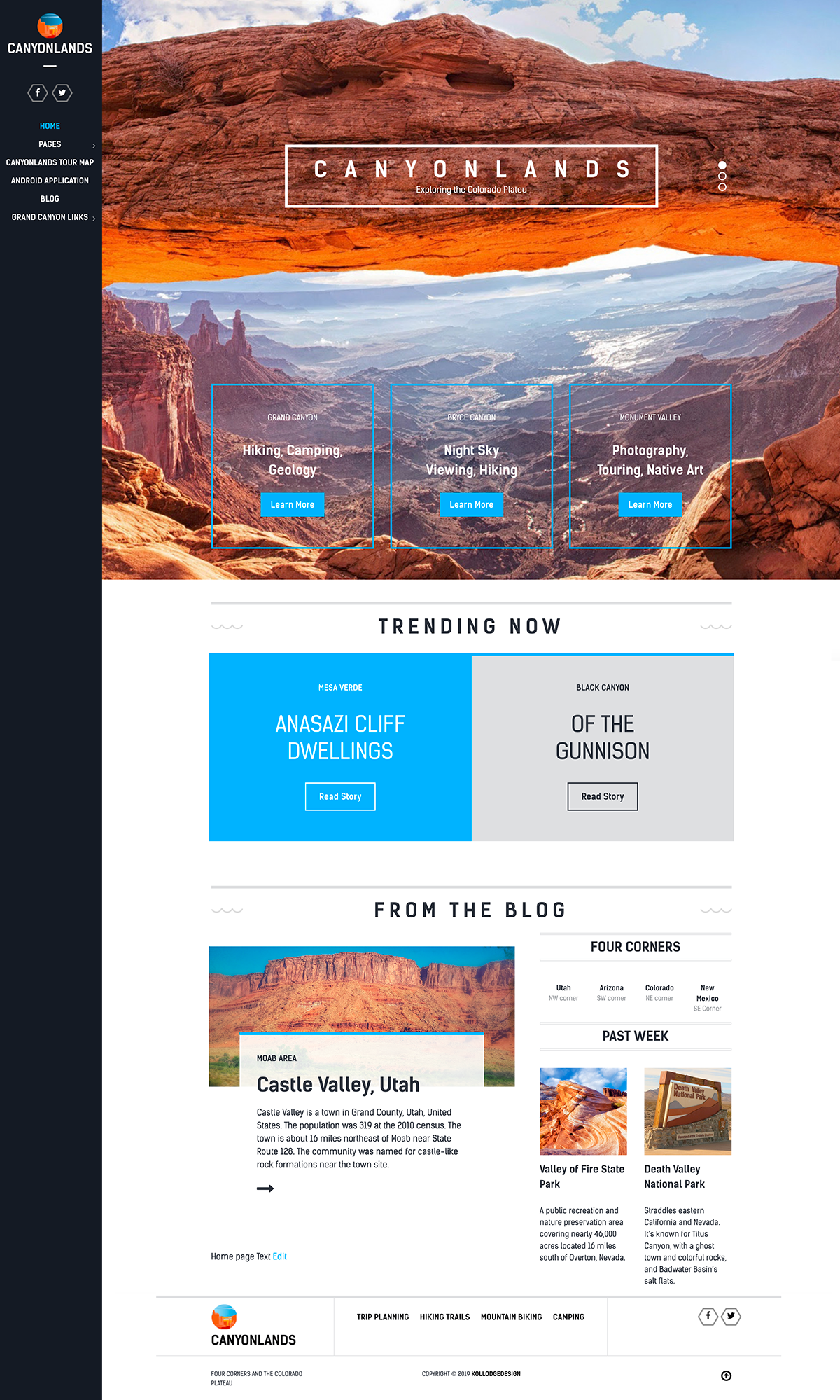Canyonlands Website