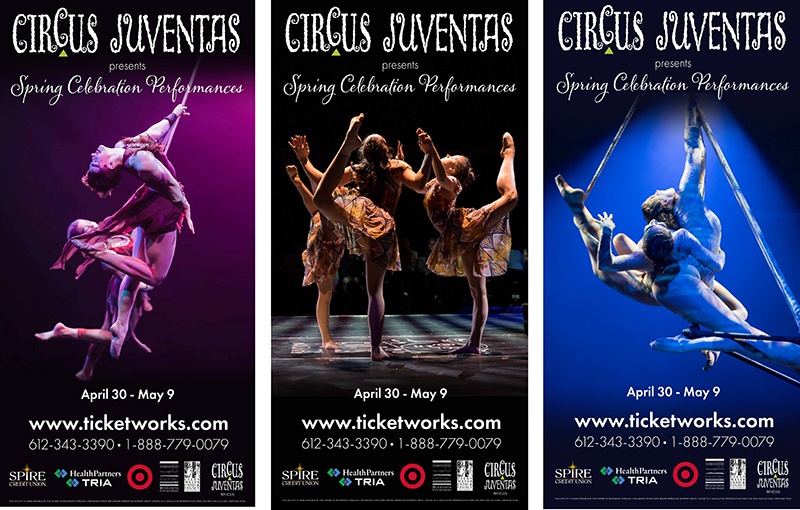 Circus May Show Banners