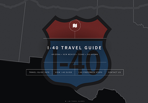 I-40 Travel Guide Site