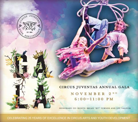 Circus Juventas Gala Program