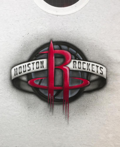 Houston Rockets Stylized Logo t-shirt