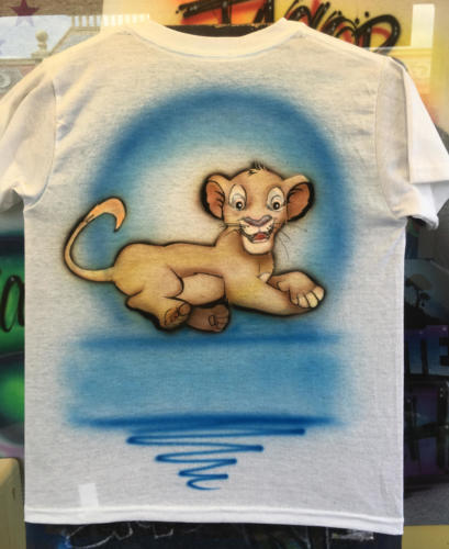 Simba/Lion King design, Mall of America