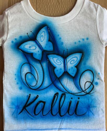 Butterfly Design in blue tones