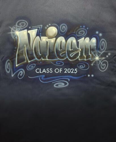 Custom name on Black Shirt